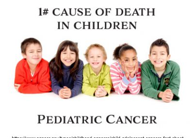 1# cause of death in children pediatric cancer
