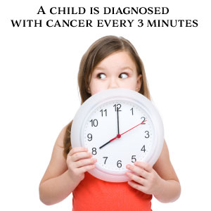 A Child is Diagnosed with Cancer every 3 minutes